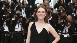 Herečka Julianne Moore ozdobila premiéru filmu Yomeddine.