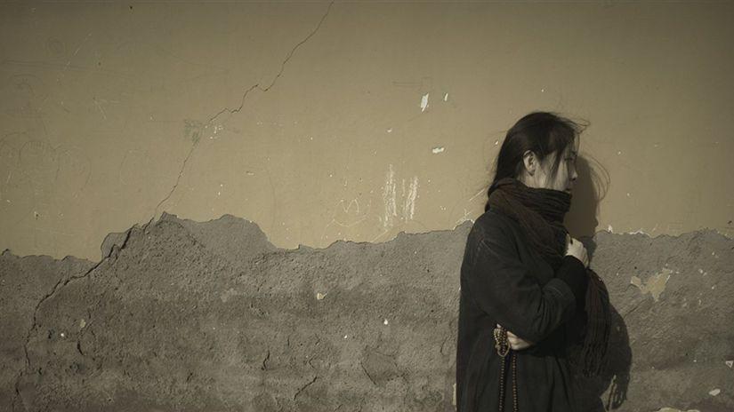 Záber z filmu Tichá hmla od čínskeho režiséra...