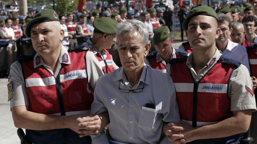 zatknutie, Turecko, vodca prevratu, bývalý...