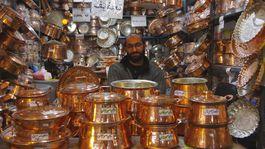 Irán, trhovisko, bazár