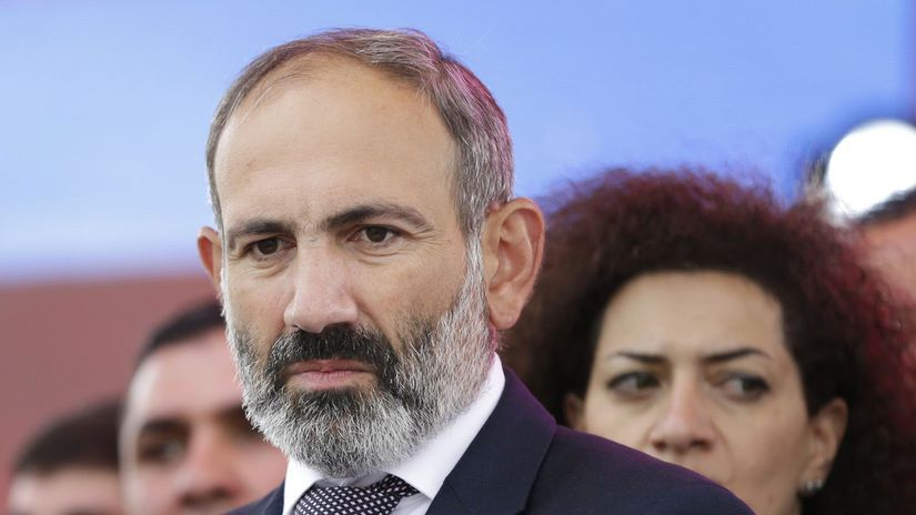 Arménsko, premiér, Pašinjan, zvolenie