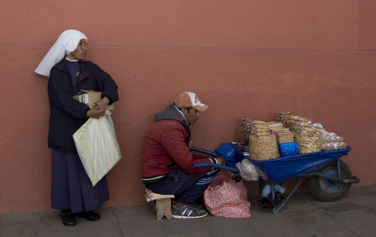 Bolívia, fúrik, predaj, rehoľná sestra