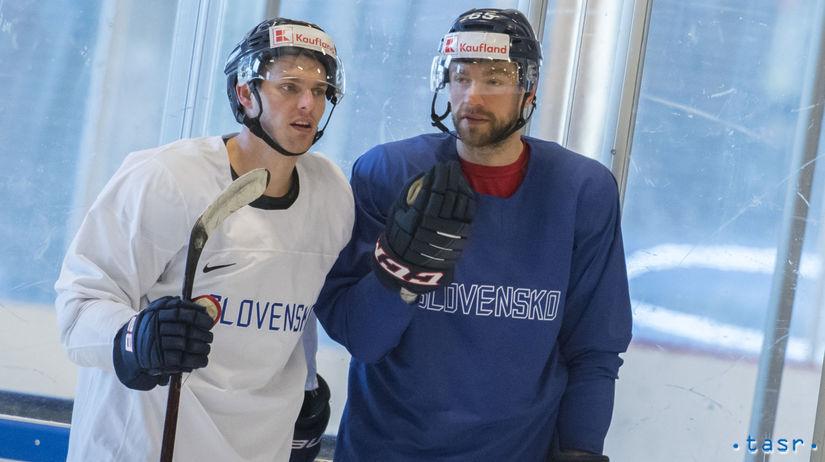 Dánsko Kodaň MS2018 Hokej Repre Tréning Švédsko