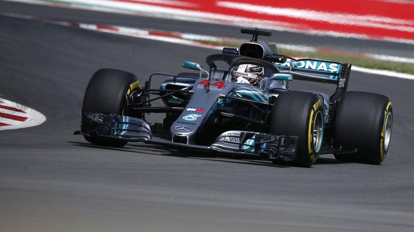 Spain F1 GP Auto Racing Hamilton