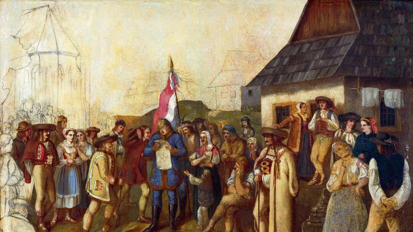 Peter Michal Bohúň: Zhromaždenie slovenského ľudu z jari 1848
