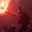 futbal fanúšikovia fans