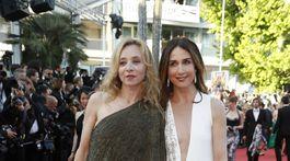 Herečky Sylvie Testud (vľavo) a Elsa Zylberstein.