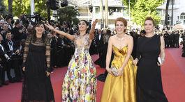 Didar Domehri, herečka Golshifteh Farahani, režisérka Eva Husson a herečka Emmanuelle Bercot