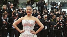 Herečka Aishwarya Rai v kreácii Rami Kadi Couture.
