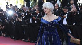 Herečka Helen Mirren vyzerala úchvatne.