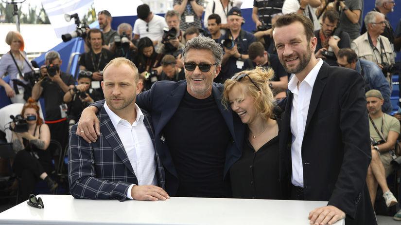 Zľava: Herec Borys Szyc, režisér Pawel...