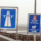 dialnicny hranicny prechod Jarovce , tabula , tabule , dialnica