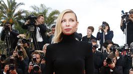 Herečka Cate Blanchett v kreácii Givenchy Haute Couture.