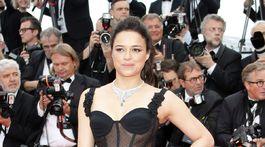 Herečka Michelle Rodriguez.