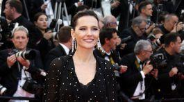 Herečka Virginie Ledoyen prišla v priehľadnej kreácii.