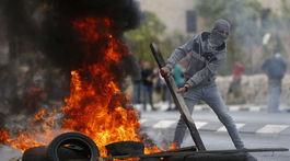 Izrael Palestínčania USA veľvyslanectvo otvorenie protesty