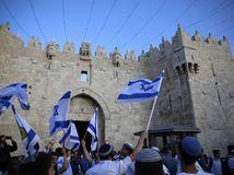 Jeruzalem, americká ambasáda