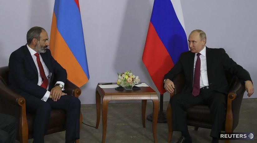 Nikol Pašinjan Vladimir Putin