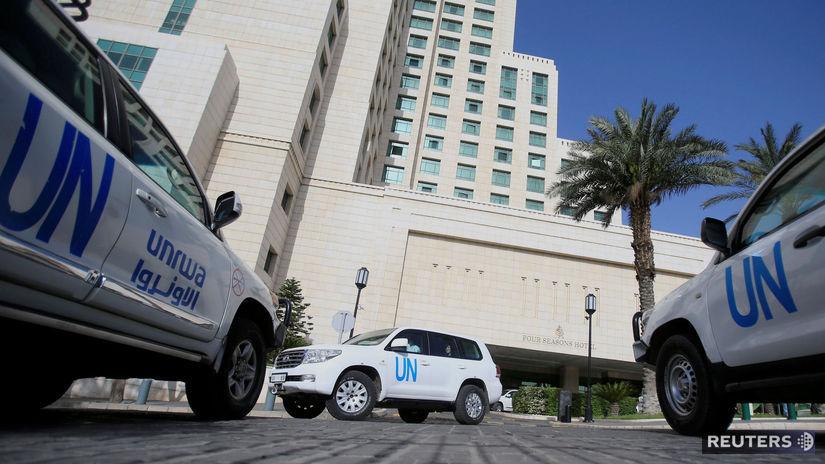 OSN, Damask, Sýria, OPCW