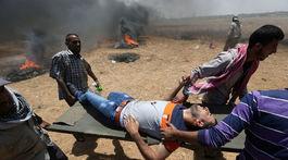 Pásmo Gazy protest