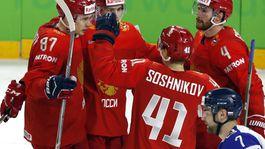 Rusko, radosť, hokej