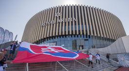 Slovensko, vlajka, fanúšikovia
