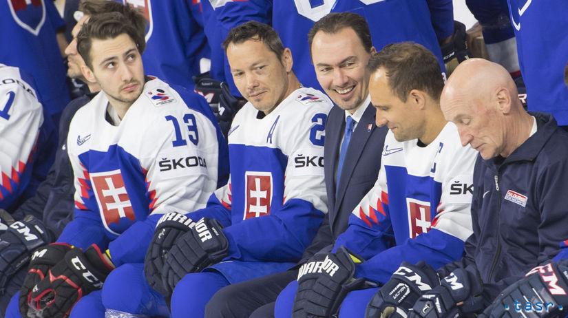 Dánsko Kodaň MS2018 Hokej A Repre Fotenie šatan
