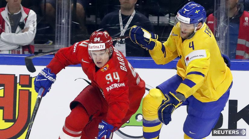 HOCKEY-WORLD-RUS-SWE/