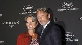 Mads Mikkelsen a jeho manželka Hanne Jacobsen