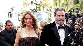 Manželia Kelly Preston a John Travolta priniesli do Cannes film Gotti.