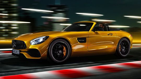 AMG GT S Roadster: Na polceste ku GT C. A bez strechy