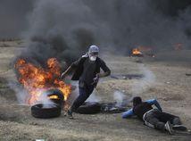 Palestína Izrael Gaza protest