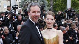 Režisér Denis Villeneuve, a jeho manželka Tanya Lapointe.