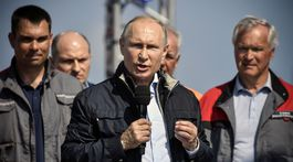 Vladimir Putin, most
