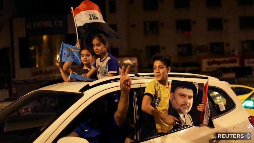 Irak, deti, auto