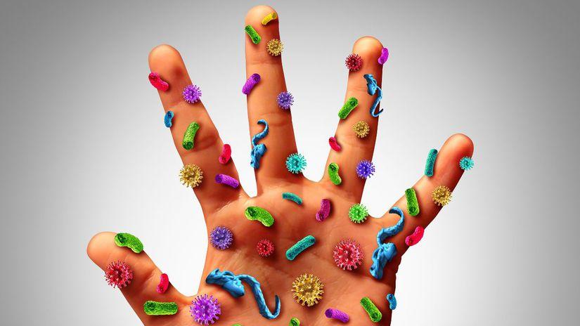 ruka, hygiena, baktéria, vírus, čistota