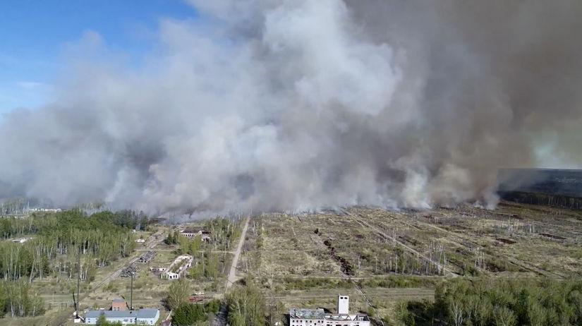 Rusko, požiar