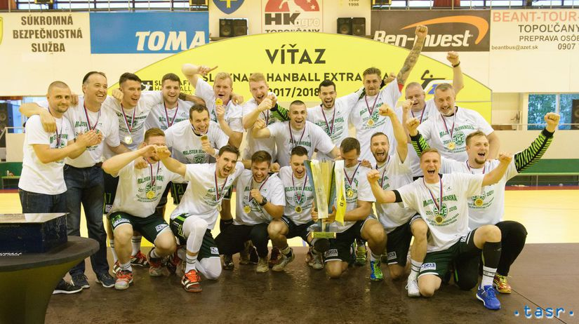 SR Hádzaná play off 4. finále muži Topoľčany...