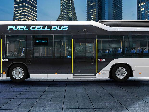 Toyota Sora - elektrický autobus