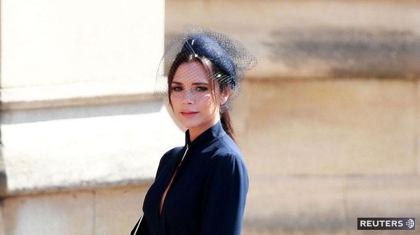 Britská módna dizajnérka Victoria Beckham.