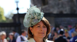 Carole Middleton, matka vojvodkyne z Cambridge.