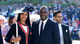 Herec Idris Elba a jeho snúbenica Sabrina Dhowre.