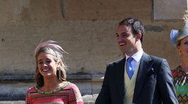 Herečka Cressida Bonas, bývalá priateľka princa Harryho, dostala tiež pozvanie na kráľovskú svadbu.