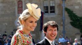 James Blunt a jeho partnerka Sofia Wellesley dostali pozvanie na svadbu tiež.
