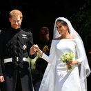 Meghan Markle a Princ Harry spoločne po svadobnom obrade na hrade Windsor.