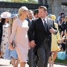 Moderátor a herec James Corden a jeho manželka Julia Carey.