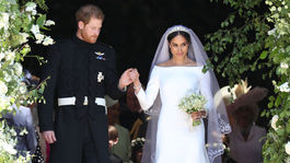 Princ Harry odvádza Meghan Markle
