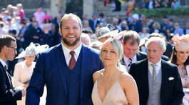 Ragbista James Haskell a jeho partnerka Chloe Madeley.
