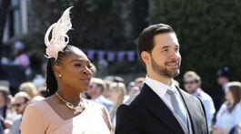 Serena Williams a jej manžel Alexis Ohanian.