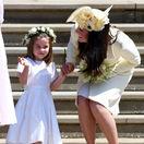 Vojvodkyňa Kate a jej štíhla postavička! Malá Charlotte si svadbu užívala